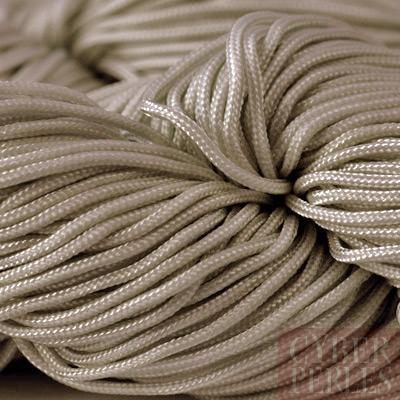 cordon pour noeuds chinois et macram gris taupe k20. Black Bedroom Furniture Sets. Home Design Ideas