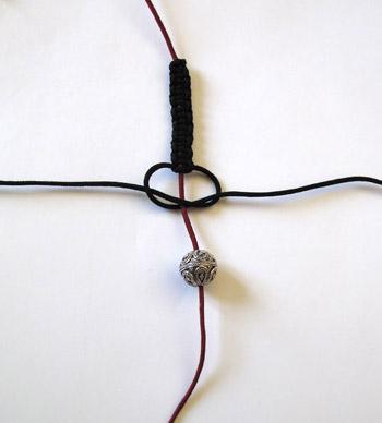 Cyberperles Les Coups De Pouce Bracelet Macrame Style Shamballa