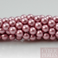 Perles Swarovski 5810 - powder rose 4 mm