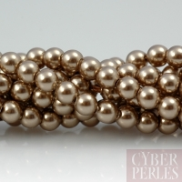 Perles Swarovski 5810 - crystal bronze 4 mm