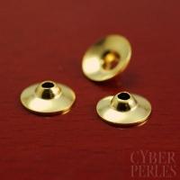 Caps en vermeil - 6 mm
