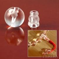 Set de perles finition de mala en cristal de roche