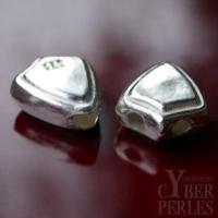 Perle en argent - 3 trous