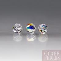 Perle Swarovski ronde 5000 - Crystal AB 3 mm
