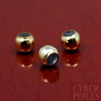 Perle stoppeuse gold filled 3 mm
