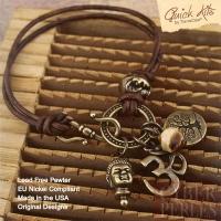Kit DIY bracelet cuir Esprit de l'Inde