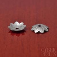 Coupelles fleurs en acier inoxydable - 7 mm