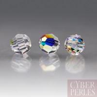 Perle Swarovski ronde 5000 - Crystal AB 4 mm