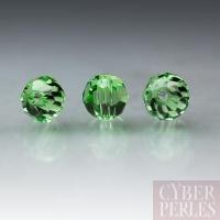 Perle Swarovski ronde 5000 - Peridot 4 mm