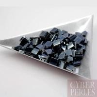 Miyuki Tila - perles 2 trous - gunmetal