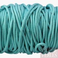 Cordon en tresse de soie - turquoise clair