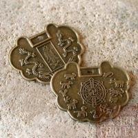 "Pendentif chinois zodiaque ""protection"""