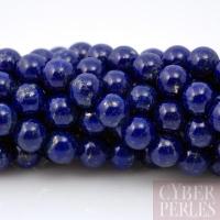 Perle ronde en lapis lazuli 4 mm - grade AA