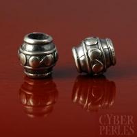 Perle de Bali - cylindre large trou