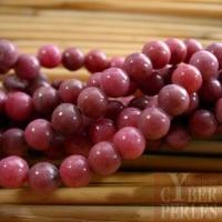 Perles rondes en Rhodonite 6 mm