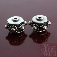 Perle de Bali en argent