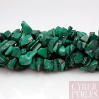 10 cm de chips en malachite