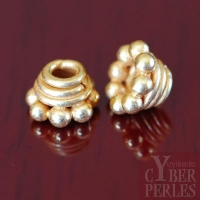 Perle de Bali en vermeil - caps