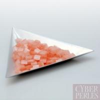 Miyuki Tila - perles 2 trous - corail pastel