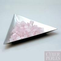 Miyuki Tila - perles 2 trous - rose clair pastel
