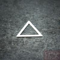 Connecteur triangle en argent 925