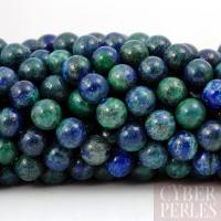 Perles rondes en chrysocolle - 4 mm