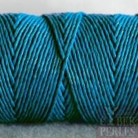 Fil de chanvre 1 mm - turquoise foncé