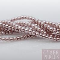 Perles tchèques 2 mm - améthyste pastel