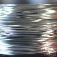 Fil à mémoire de forme en acier inoxydable - Collier - Argenté (114-130 mm)