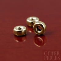 Intercalaire rondelle gold filled 3 mm