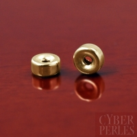 Intercalaire rondelle gold filled 4 mm
