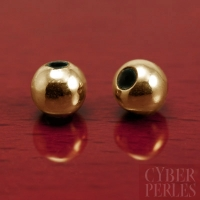 Perle stoppeuse gold filled - 6 mm