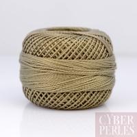 Coton perlé taille 8 - lin foncé - 80 m