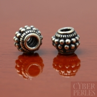 Perle de Bali en argent 925/1000