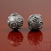 Perle style Bali en argent 925/1000