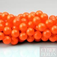 Perle Swarovski nacrée 5810 - Crystal Neon Orange 8 mm