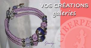 Vos galeries de créations